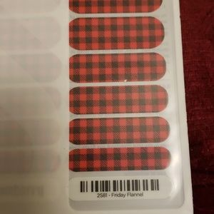 Jamberry Makeup - Jamberry Nail Wraps Friday Flannel